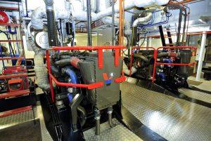 Inter koeler voor Pacar diesel motor